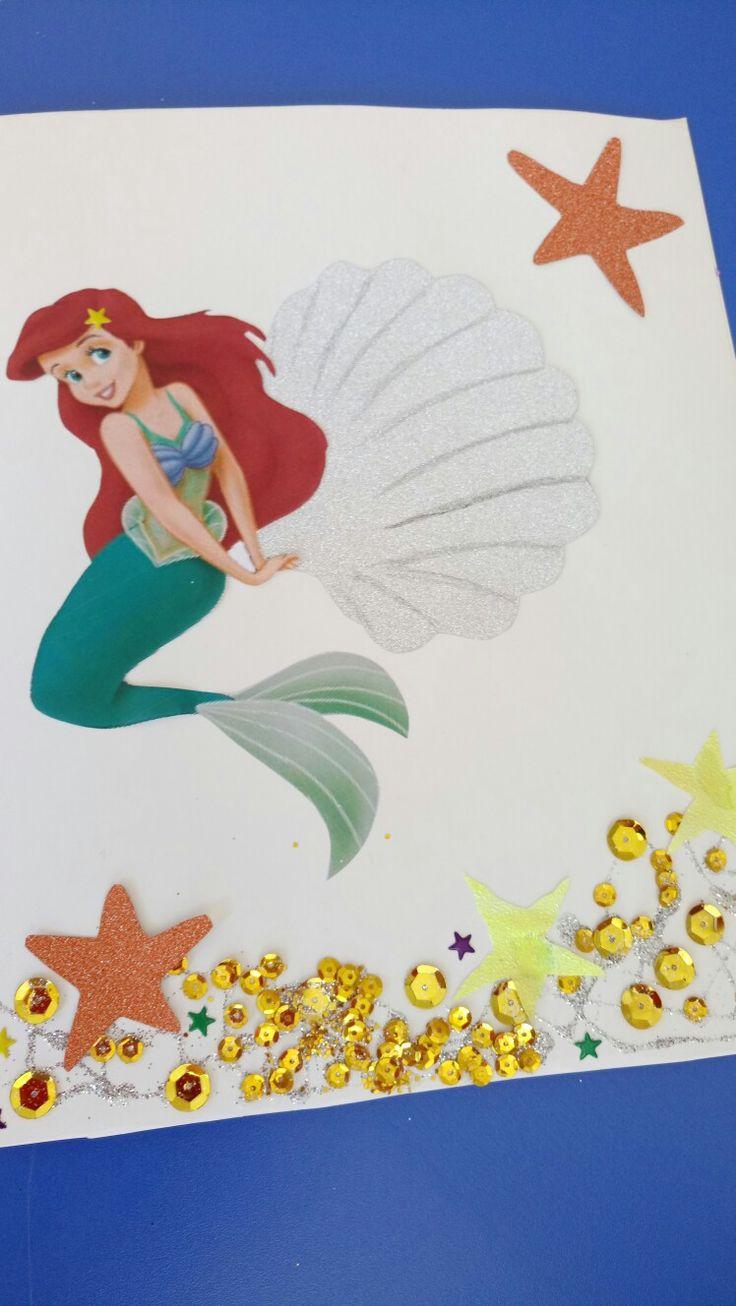 Gelişim raporu, deniz kızı, ariel, süs, deniz yıldızı