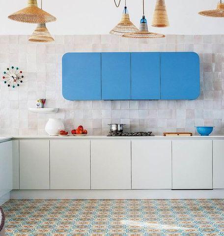 Die besten 25+ blaue Küchenschränke Ideen auf Pinterest Blaue