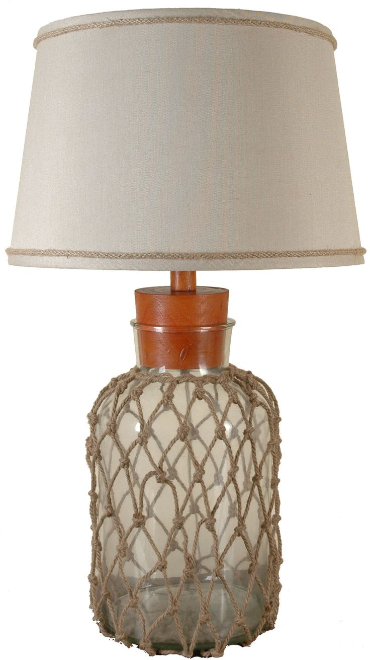 Imax bf carey table lamp hautelook - Lps 061 Glass And Rope Table Lamp By Lamps Per Se