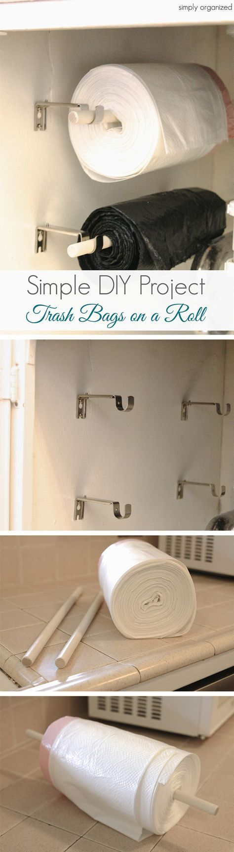 """This would free up valuable """"floor"""" space in the under-sink cabinet"""