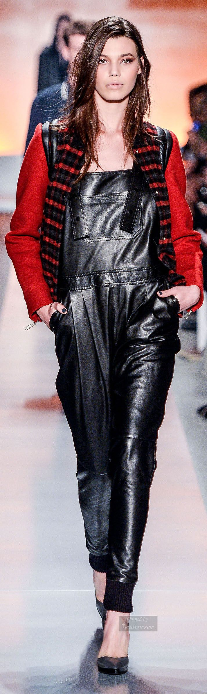 245 Best Images About Leather Catsuits Overalls On