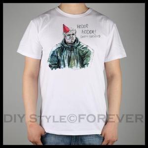 HODOR-Happy-Birthday-Card-game-of-thrones-T-shirt-Top-Lycra-Cotton-Men-T-shirt-New #gameofthrones