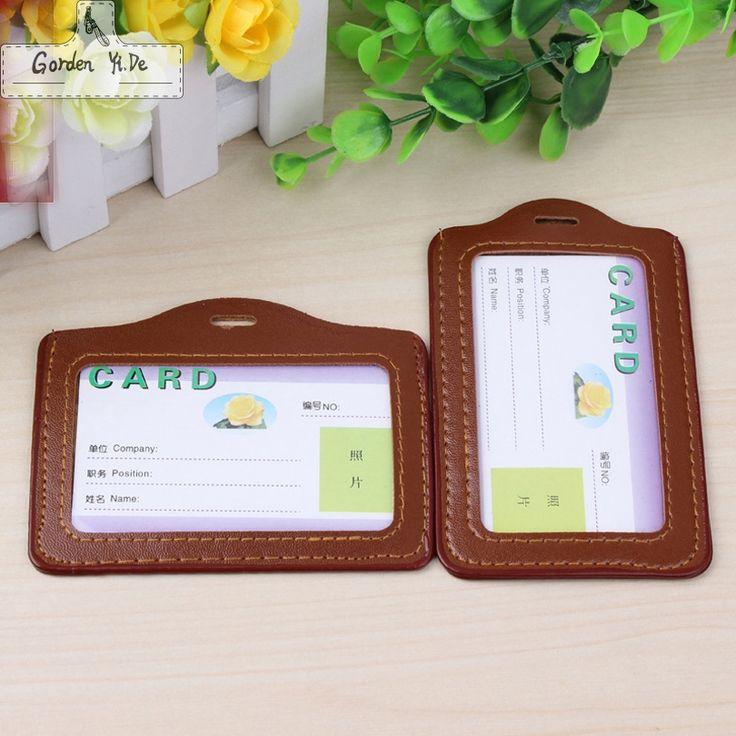 2016 Cordón de Las Mujeres de LA PU Caso Titular de Tarjeta de ID Bus Placa Identificativa con Cordón Cadena de Moda Portátil Porte Carta de Crédito