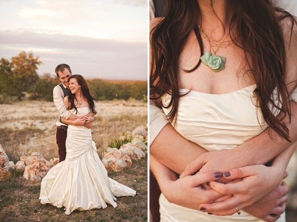 bridal gown; bride necklace/jewelry