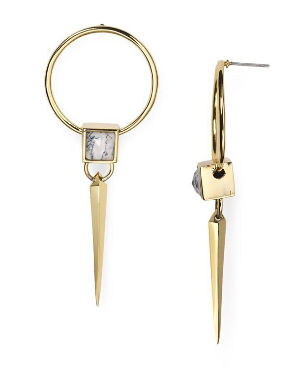 Alexis Bittar Geometric Spike Post Earrings