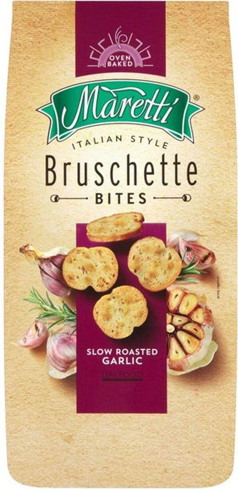 Maretti Bruschetta Bites - Slow Roasted Garlic (150g) | Compare Prices, Buy Online | mySupermarket