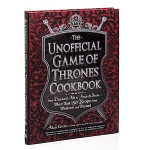 Including recipes for Arbor Red Wine, the Stark's Venison, Apple, Cheddar Plaits, The Imp's Wild Strawberry Fool and Wilding Grilled Pork Chops with Stir-Grilled Apples.