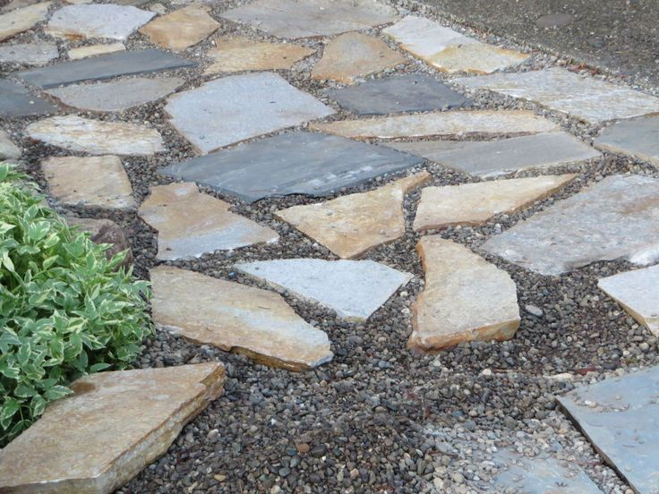A beautiful slate walkway for $200