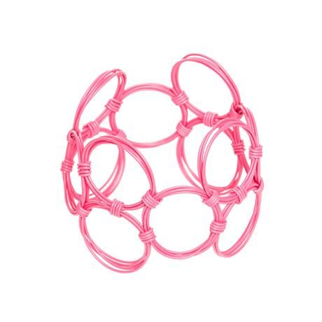 thumbnail for Wide oblong bangle - strawberry pop