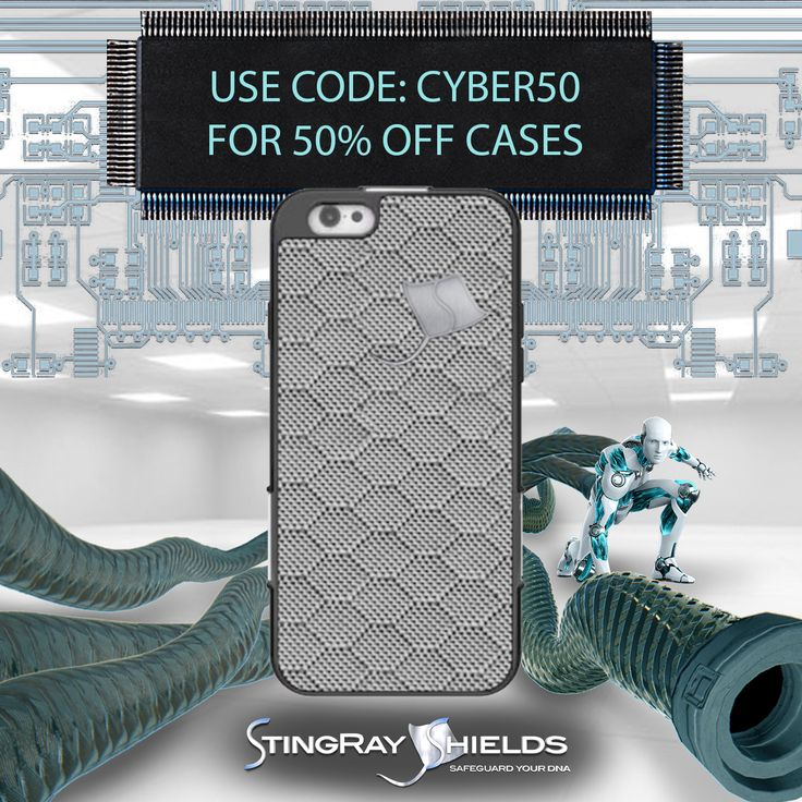 Our Cyber Monday SUPER SALE is LIVE!  Don't Miss the Best Discounts of the Year for Cell Phone Radiation Protection!  All iPhone Cases are 50% Off through December 5th!    Purchase something Valuable for your Future Health at stingrayshields.com