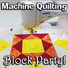 Machine Quilting Block Party