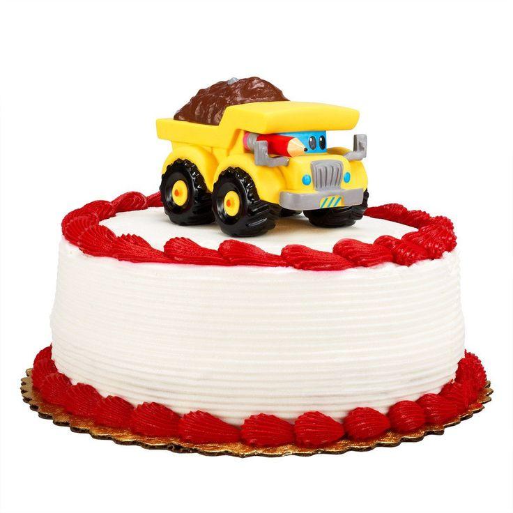 Construction Pals Cake Topper