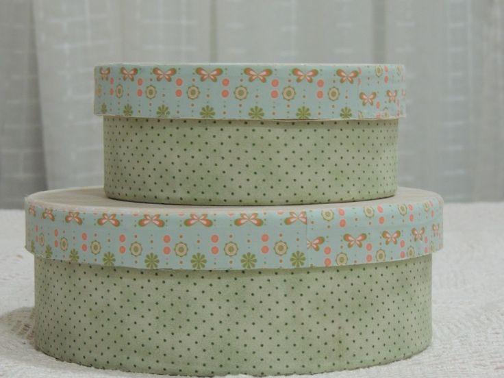caixas forradas #cartonagem  www.ateliercapimlimao.com.br