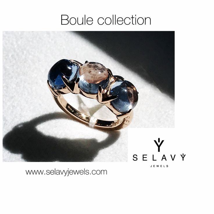 SELAVY' JEWELS anello trilogy collezione Boule. www.selavyjewels.com