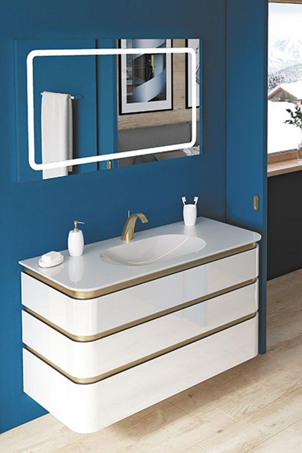Ensemble Presente Mont Blanc I Envie De Salle De Bain Decotec Salledebain Enviedesalledebain Meuble Bathro Bathroom Inspiration Bathroom Inspiration