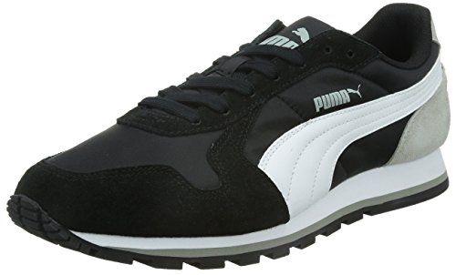 Puma ST Runner NL Unisex-Erwachsene Sneakers, Mehrfarbig (black-white-limestone Gray), 44.5 EU - http://on-line-kaufen.de/puma/44-5-eu-puma-st-runner-nl-unisex-erwachsene-3