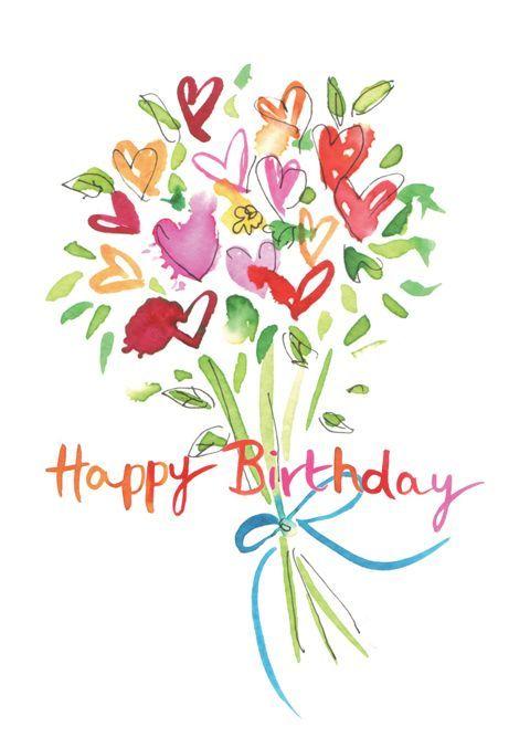 Happy Birthday bouquet