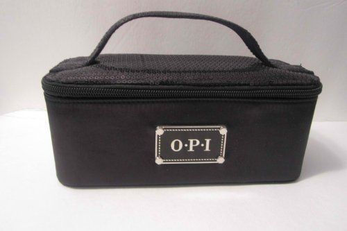 Opi Cosmetic Bag, Black Color with Divider by OPI. $12.00. OPI COSMETIC BAG WITH DIVIDERS.