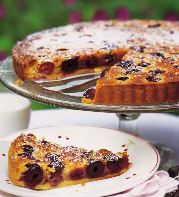 Cherry Almond Tart (Anne Willan) (50 Most Influential Women in Food ...
