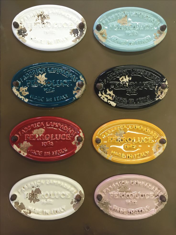 All vintage color finish!!