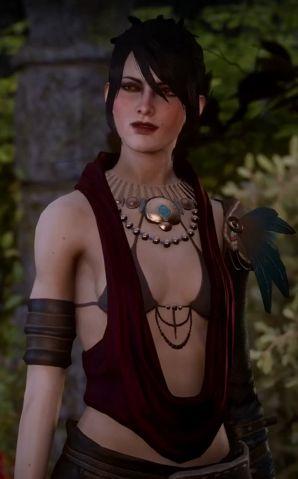 Morrigan - Dragon Age Inquisition |  She looks so pretty in Inquisition. :)