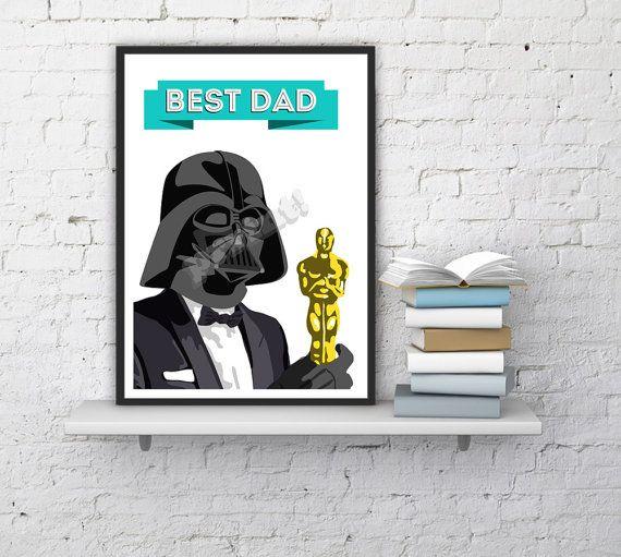 office gifts for dad. modren for darth vader best dad print unique funny gift idea star wars poster office on office gifts for dad i