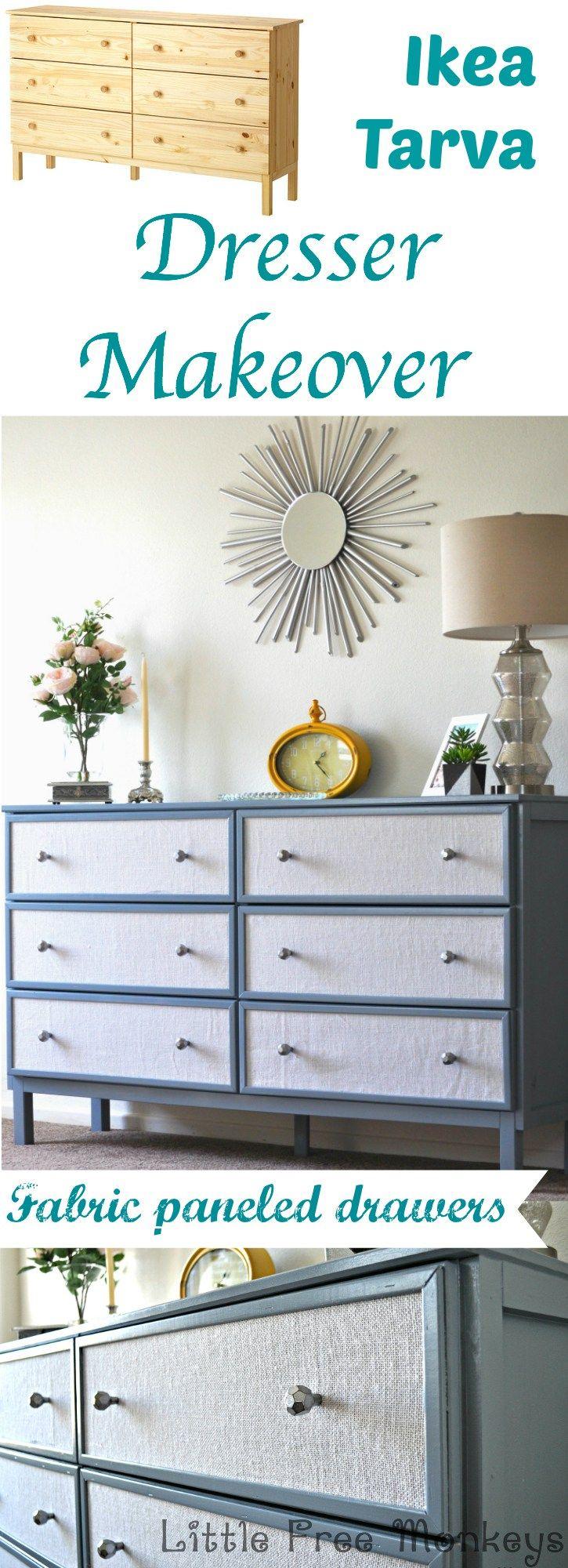 IKEA Tarva Dresser In Home Decor: 35 Cool Ideas