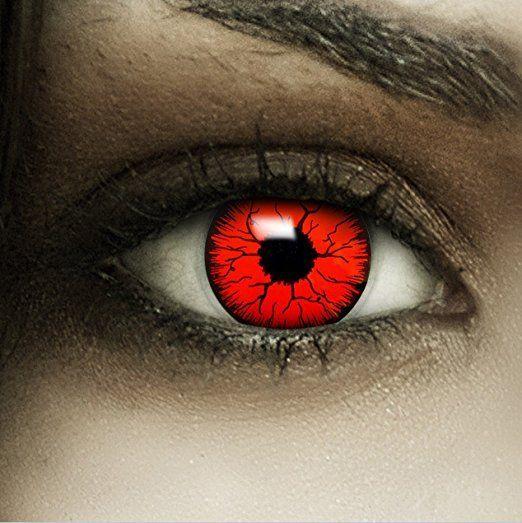 Die 25+ besten Ideen zu Rote Kontaktlinsen auf Pinterest   Halloween  Make-up Vampir, Vampir kostüm und Rote augen