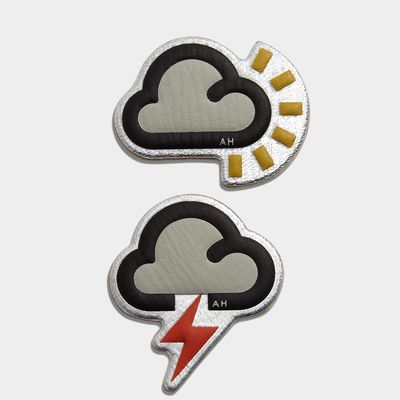 Weather Stickers, created in collaboration with CHAOS Fashion