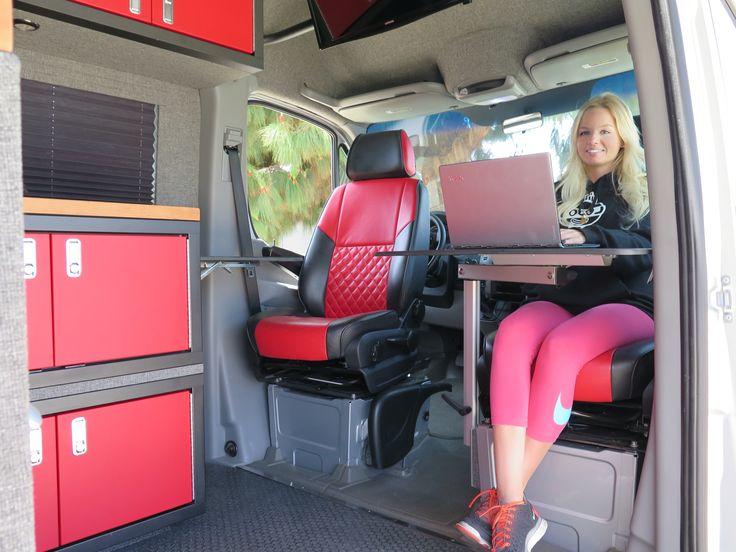 RV Gear Hauler - El Kapitan - Van Conversion - Huntington Beach, California   Mercedes Sprinter 144