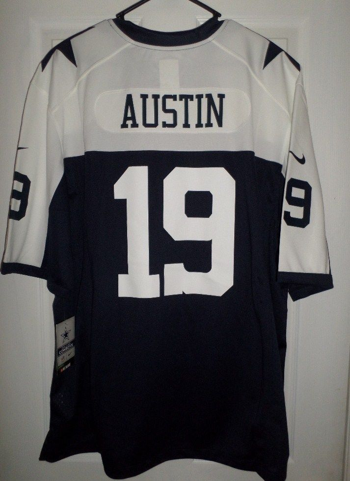 0099b032f1f Mens Blue, White DALLAS COWBOYS #19 MILES AUSTIN NFL NIKE Jersey, Size XXL,  NWT #NIKEOnFieldNFLApparel #DallasCowboys