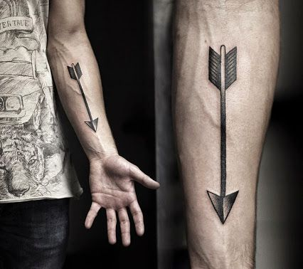Arrow-Forearm-Tattoo