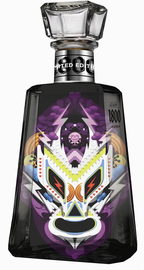 1800 tequila packaging | Essential Artists series | Proximo Spirits Inc.