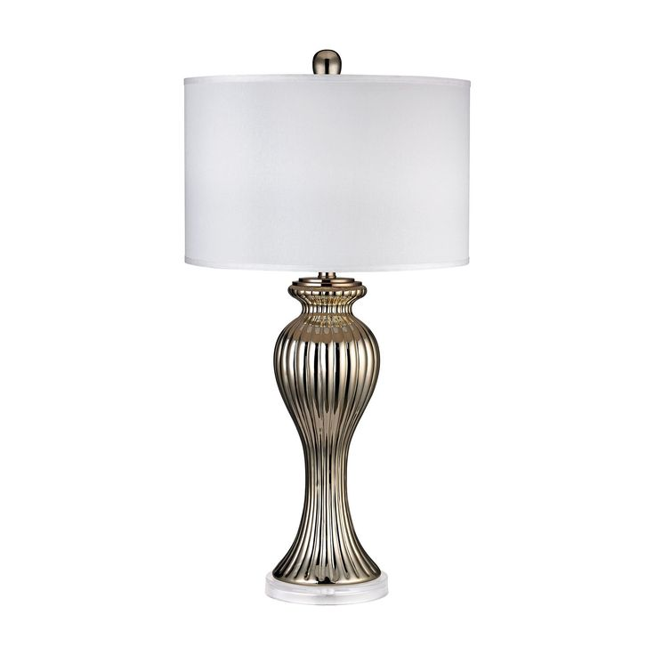 Gold Ribbed Tulip Table Lamp 8 best