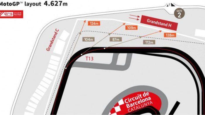 Setelah Balapan MotoGP 2017 Berakhir, Sirkuit Catalunya akan Kembali Dirubah