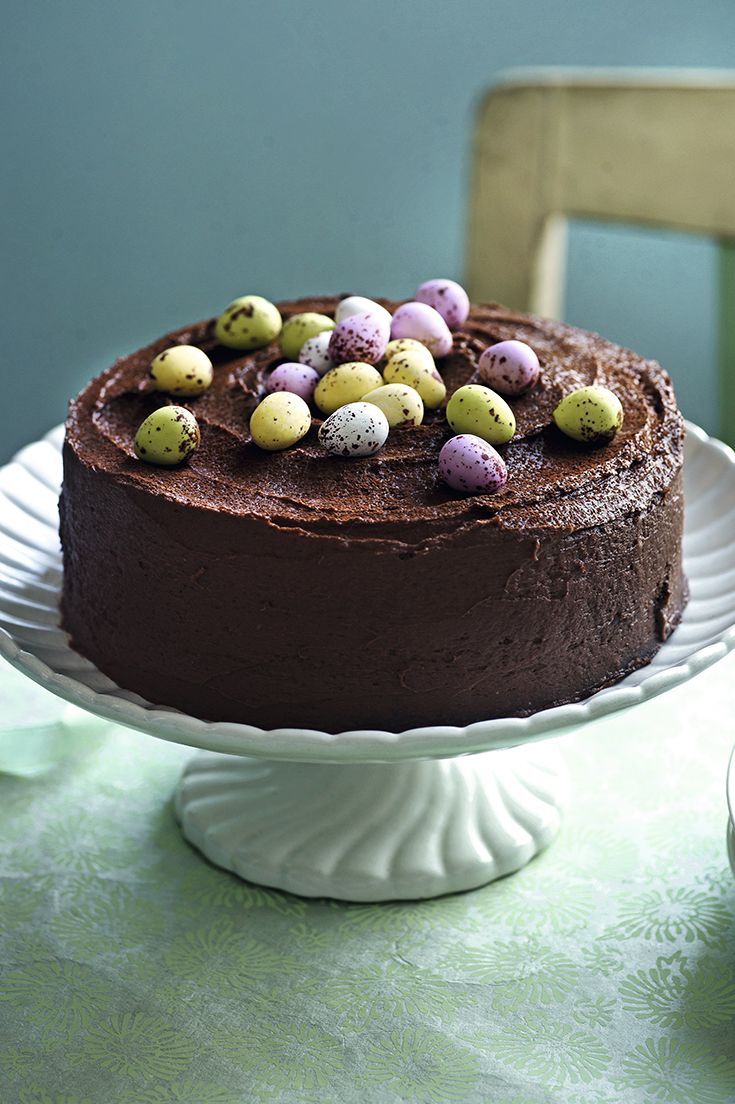 Chocolate and indulgent, the Waitrose chocolate Easter cake is the perfect centerpiece to any Easter roast dinner.