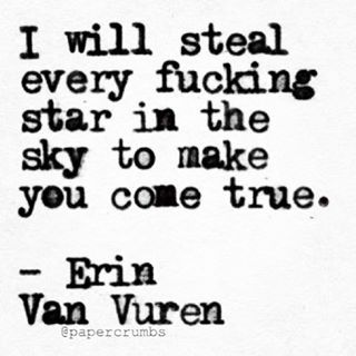 Erin Van Vuren — Goodnight everybody. Who or what entity is your...