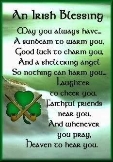 Happy St Patrick's Day!! blessing