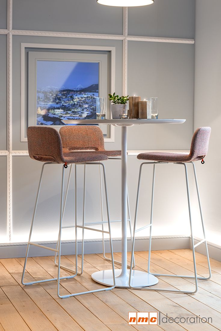 WALLSTYL® light baseboard for WALLSTYL® baseboards #diningroom