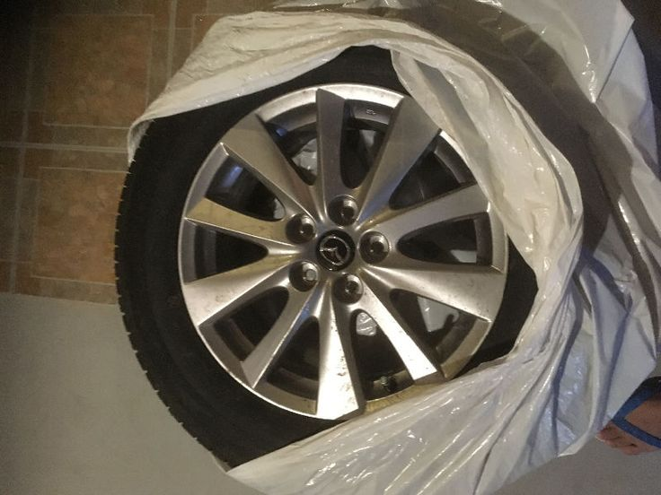 hi, selling 4 pcs mazda all season cx5 tires / rims brand new , size 225/65 r17.$1k obo. pls contact 7806951684.