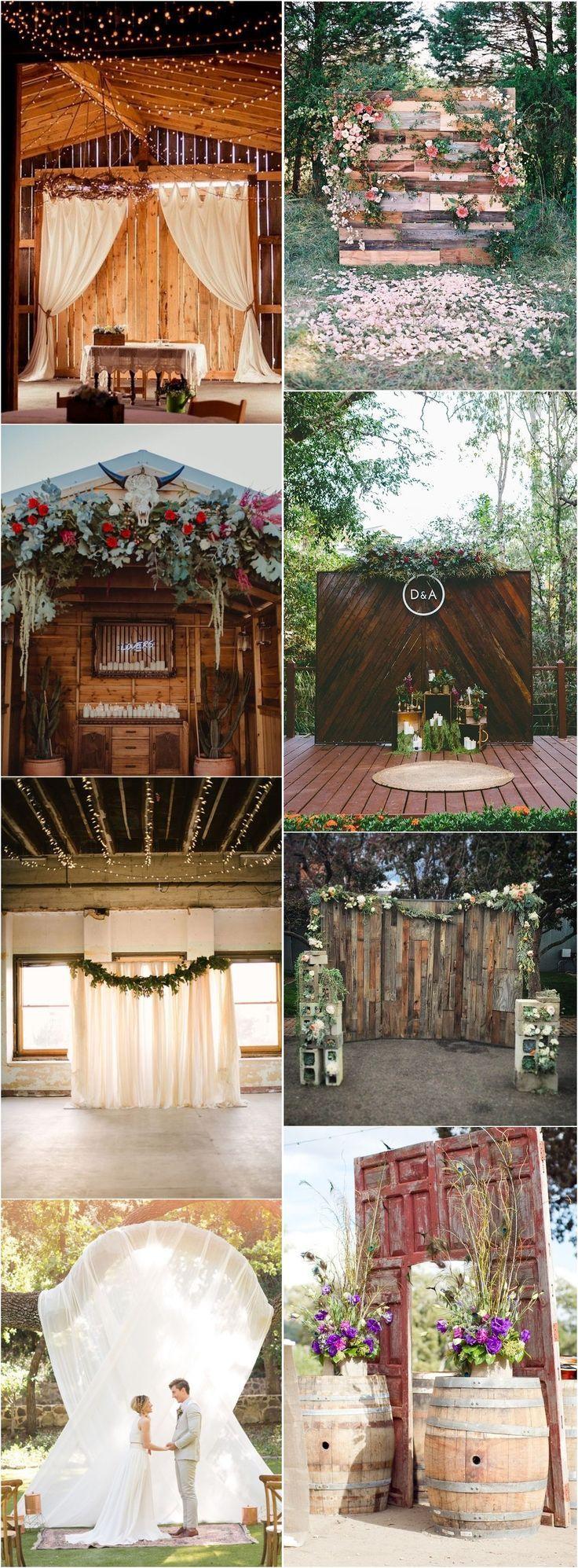 20 Best of Wedding Backdrop Ideas from