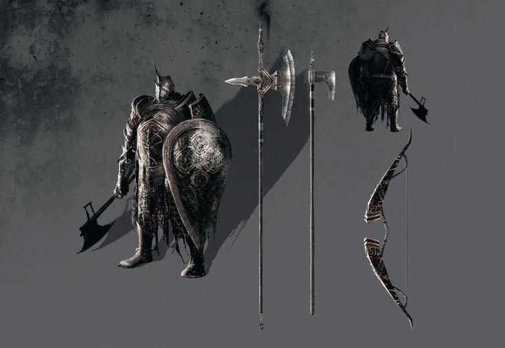 Dark Souls  Loyce Greatsword Build