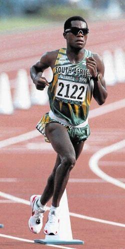 1996 Josia Thugwane (Afrique du Sud) JO Atlanta (USA)