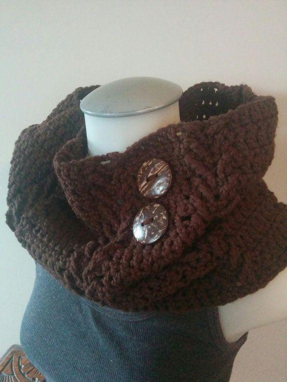 Crochet Brown Braids Cowl Infinity Scarf Neck by TillysCozyHooks #crochetcowl#knittedcowl#cozycowl #uniquecowl#winterfashion#winterstyle #winterfashion#wintermusthave#infinityscarf #infinitycowl#infinityscarves#ladiesfashion #ladiesscarves#ladiescowl#womensscarves #womenscowl#forher #browncowl #neutralcowl #neutralscarves