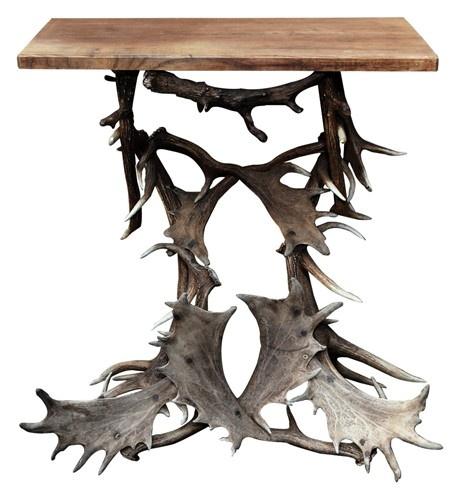 Antler Console Table - $2500. OMG I looooooooooove this, not for $2500 though!