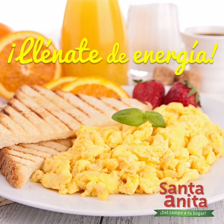 Ya casi acaban las vacaciones y es momento de volver a las rutinas. ¡No te preocupes! Los desayunos con Huevos Santa Anita Del Campo a tu Hogar, te darán toda la energía que necesitarás para comenzar tus días al 100% #HuevosSantaAnita