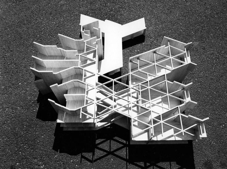 Paul Rudolph's project for the Agricultural University of Mymensingh, Bangladesh, 1965-1975