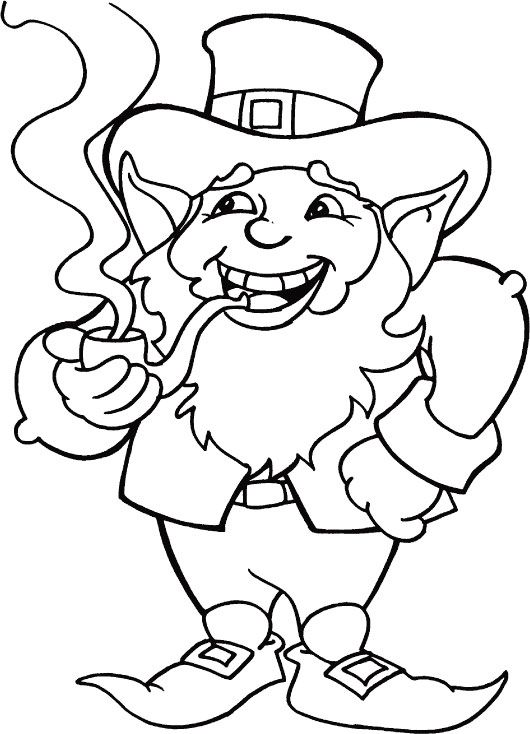 st patrick's day coloring pages St Patricks Day coloring