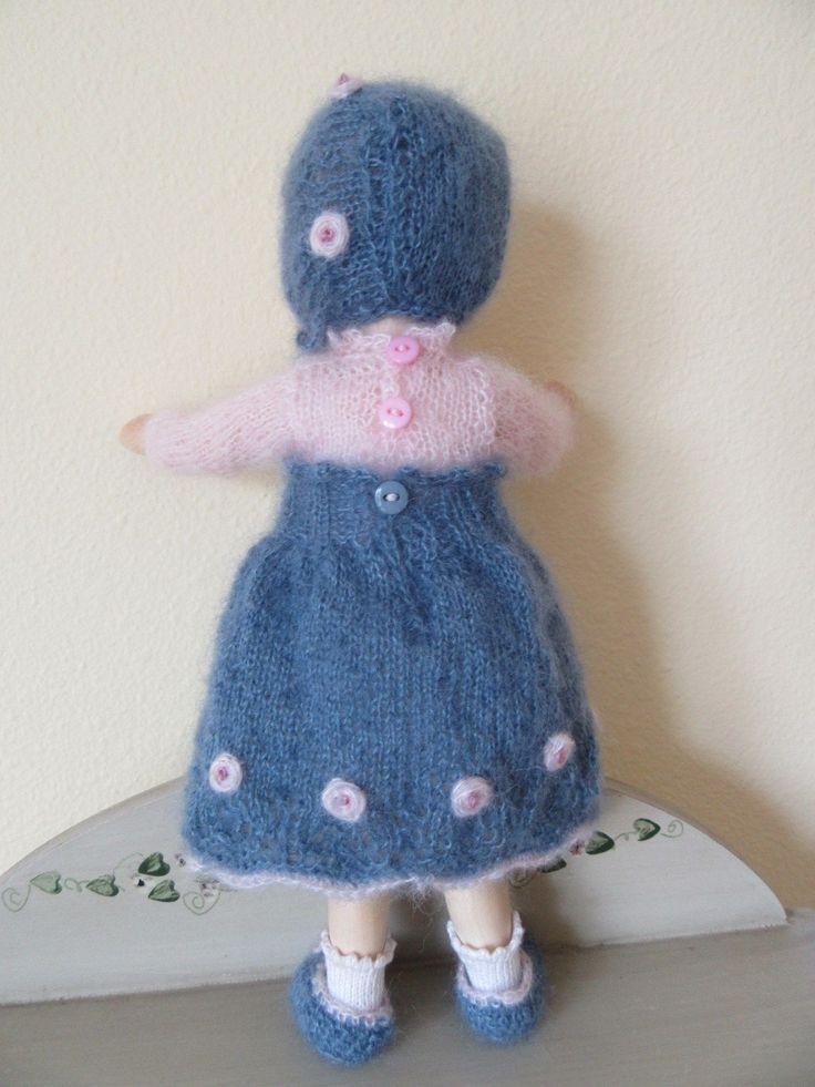 Wooden Knitting Doll : Best images about knitted dolls knitting for on