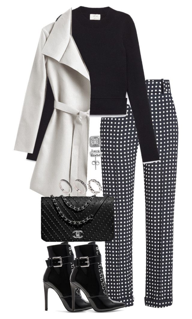 """""""Untitled #5326"""" by theeuropeancloset on Polyvore featuring Haider Ackermann, Danielle Guizio, ASOS and Lord & Taylor"""